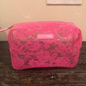 Clear makeup bag or grab/go bag